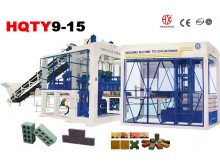 HQTY9-15 Automatic block machine