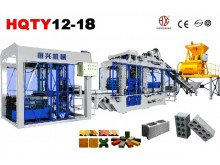 QT12-18 fully-automatic block making machine line