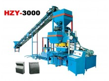HZY3000 hydraulic  pressure curb stone block machine