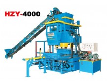 HZY4000 hydraulic pressure curb stone block machine